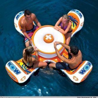 Barek stół dmuchany do wody i basenu WOW ISLAND TABLE