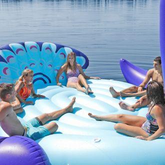 Pływająca wyspa dmuchana materac Paw 6 osób