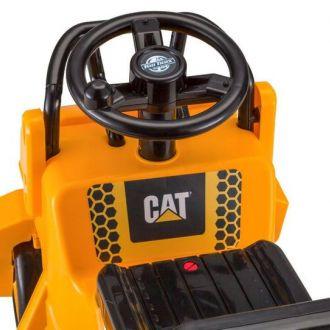 Samochód walec dla dzieci CAT elektryczny 6V