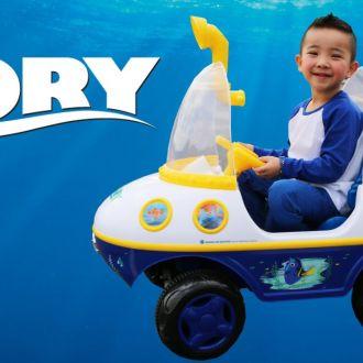 Samochód dla dzieci  łódź podwodna Disney Dory elektryczna 6V