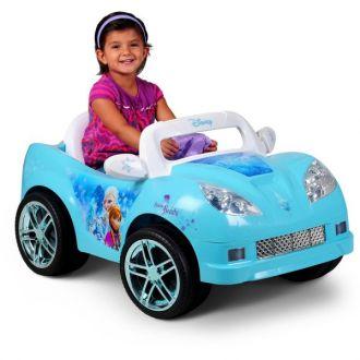 Samochód dla dzieci kabriolet Kraina Lodu Disney Frozen elektryczny 6V