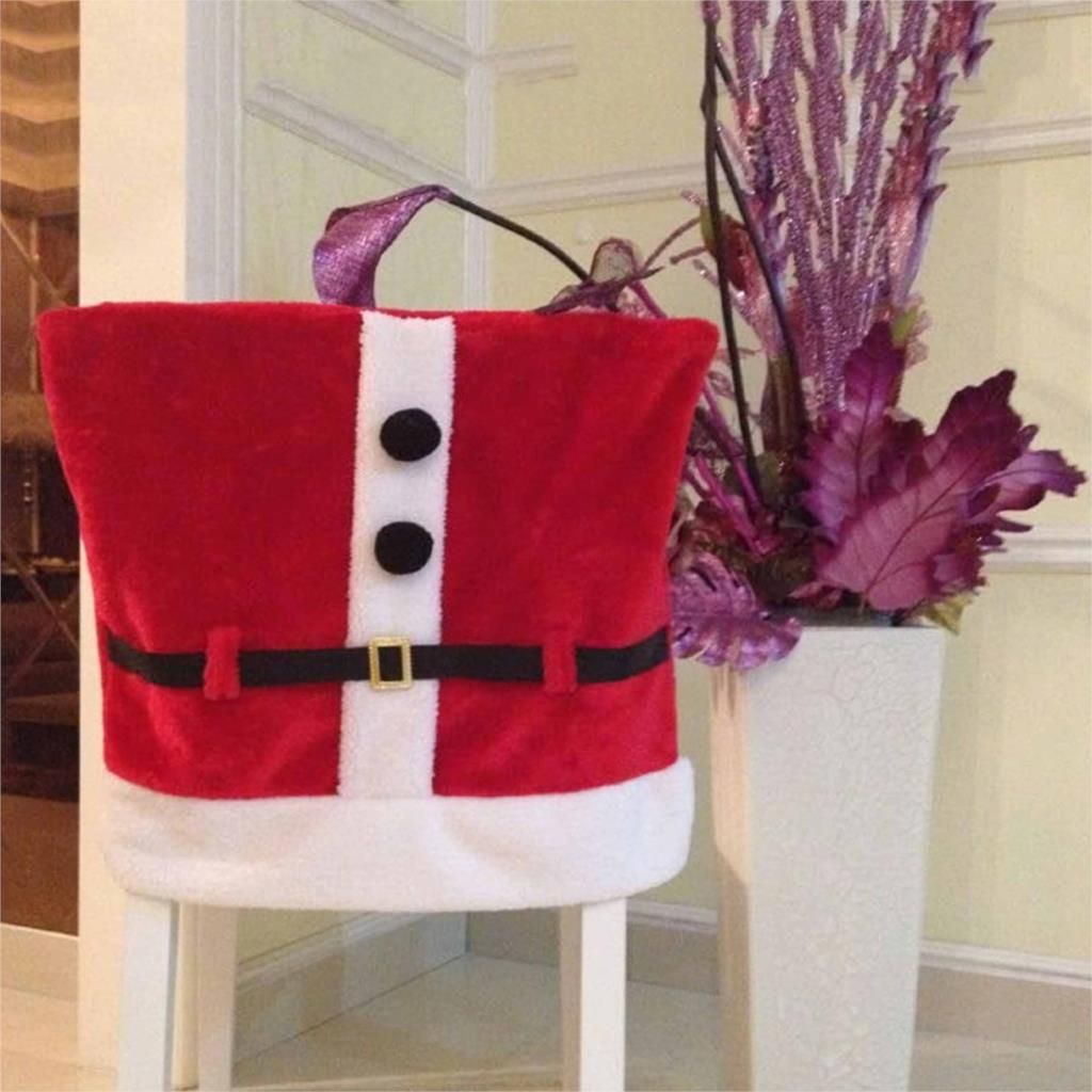 Chair cover armchair Santa Claus costume