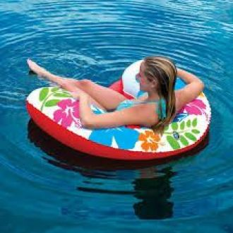 Fotel dmuchany do wody i basenu WOW U-FLOAT